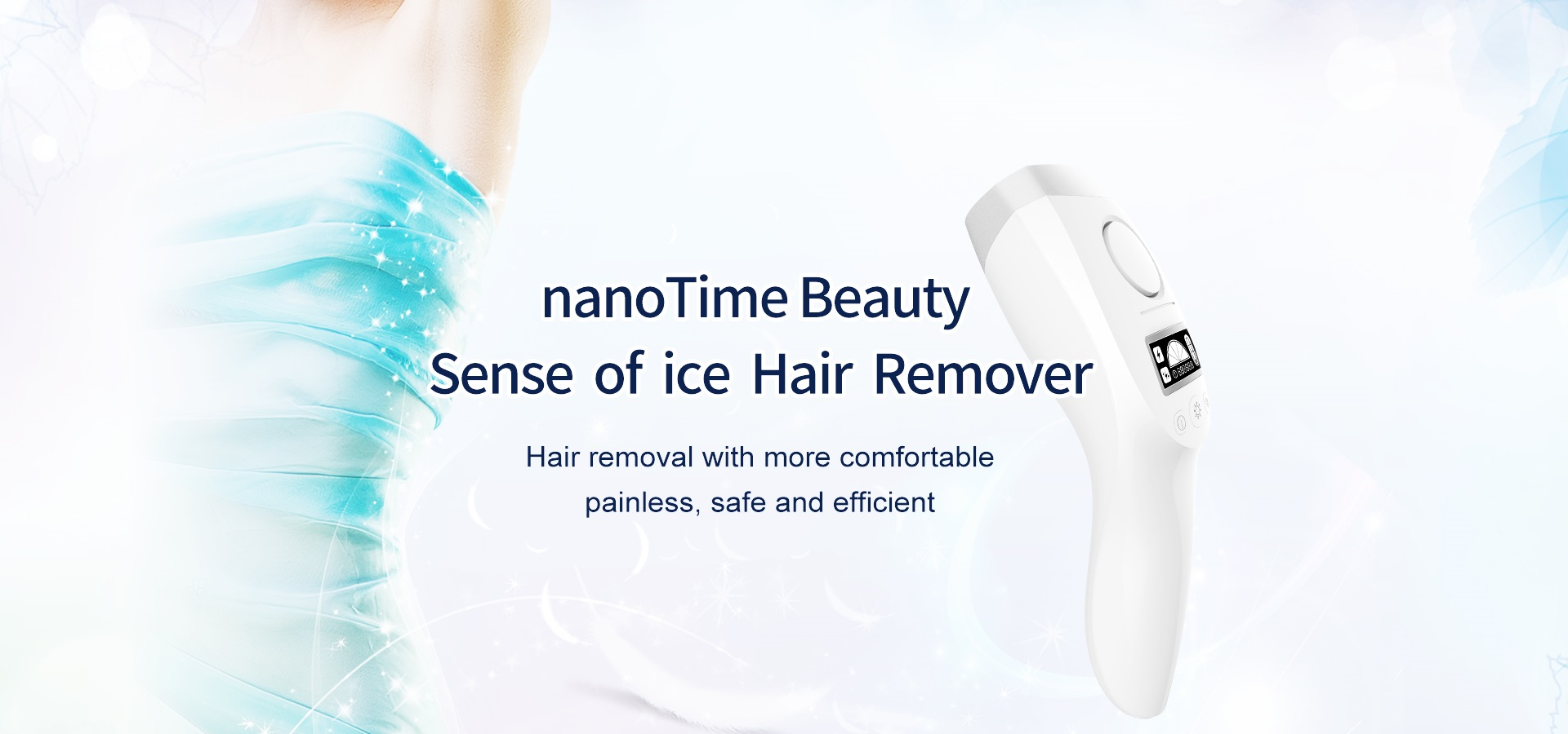 nanotime beauty IPL hair remove devies