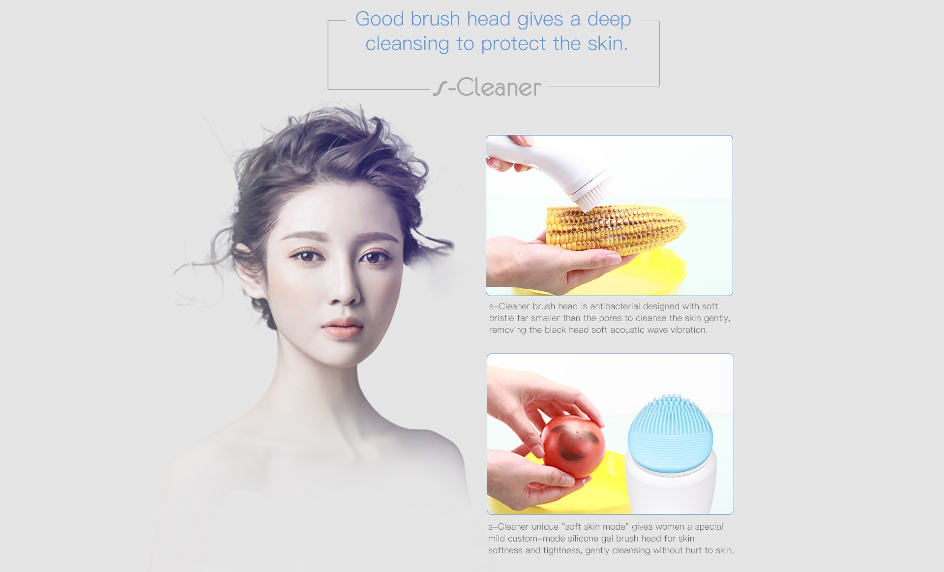 nanoTime Beauty s-Cleaner sonic skin cleansing